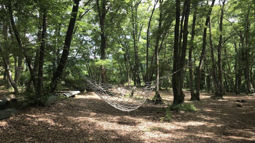 キャンプ 月尾根